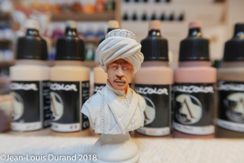 Mamelouk - Historex 1/15 - Résine - Peinture aux acryliques Mamelo10