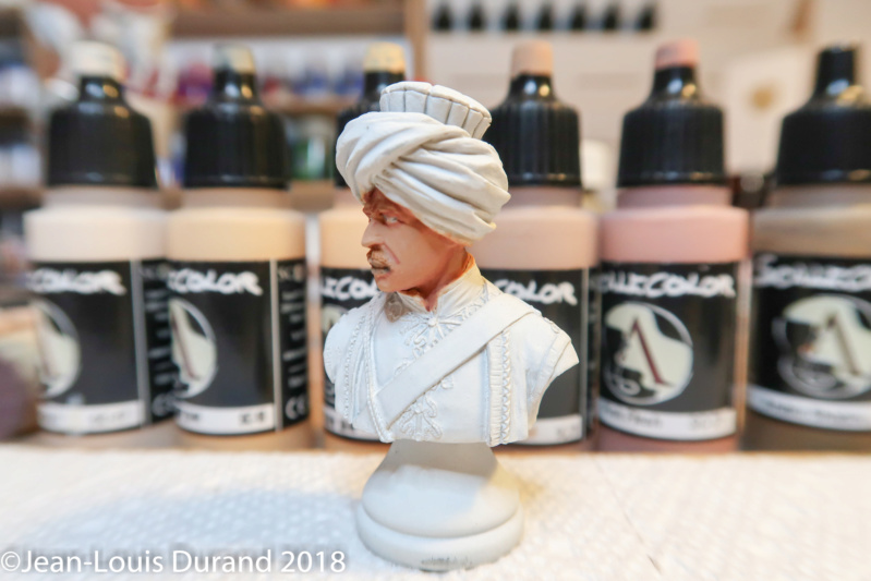 Mamelouk - Historex 1/15 - Résine - Peinture aux acryliques Mamelo11