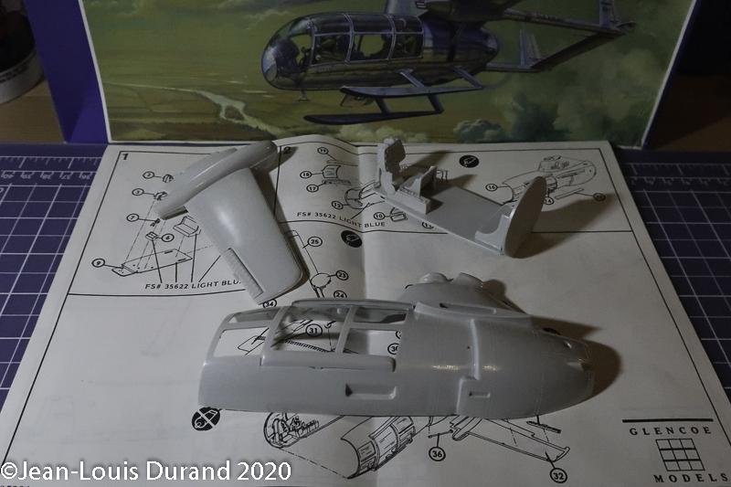 McDonnell XV-1 Convertiplane - Glencoe Models - 1/32 Mcdonn11