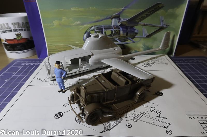 McDonnell XV-1 Convertiplane - Glencoe Models - 1/32 Mcdonn13