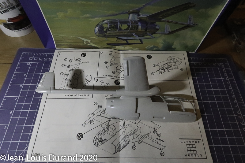 McDonnell XV-1 Convertiplane - Glencoe Models - 1/32 Mcdonn14