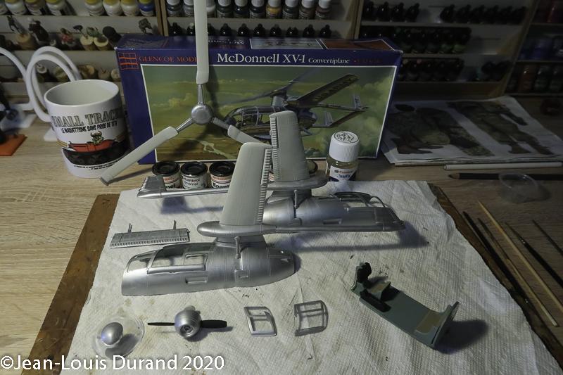 TERMINE === McDonnell XV-1 Convertiplane - Glencoe Models - 1/30 - Page 3 Mcdonn17