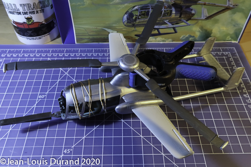 McDonnell XV-1 Convertiplane - Glencoe Models - 1/32 - Page 3 Mcdonn22