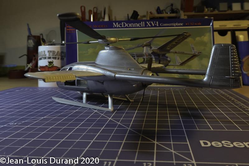 McDonnell XV-1 Convertiplane - Glencoe Models - 1/32 - Page 4 Mcdonn23