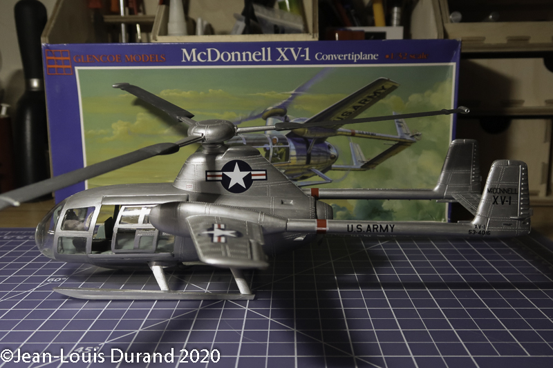 McDonnell XV-1 Convertiplane - Glencoe Models - 1/32 - Page 4 Mcdonn25