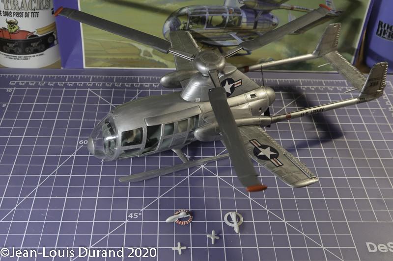 McDonnell XV-1 Convertiplane - Glencoe Models - 1/32 - Page 4 Mcdonn26