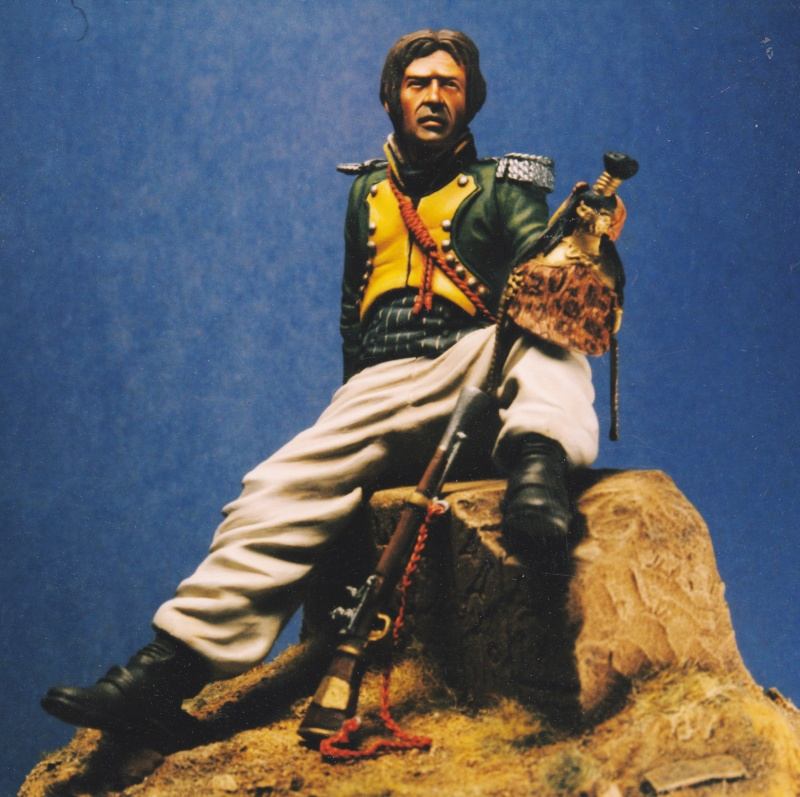 Sous-Lieutenant du 20ème Dragons Égypte 1800 - Michael Roberts - 120 mm Michae10