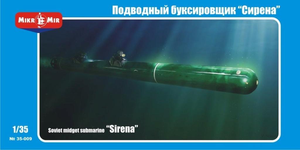 "Sous-marin de poche soviétique ""Sirena"" - Mikromir - 1/35 Mikrom10"