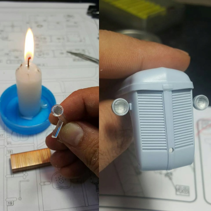 Fabriquer des optiques de phares facilement et pour pas cher... Mustaf10