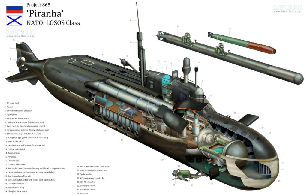 """Sous-marin de poche soviétique """"Sirena"""" - Mikromir - 1/35 Projec10"""