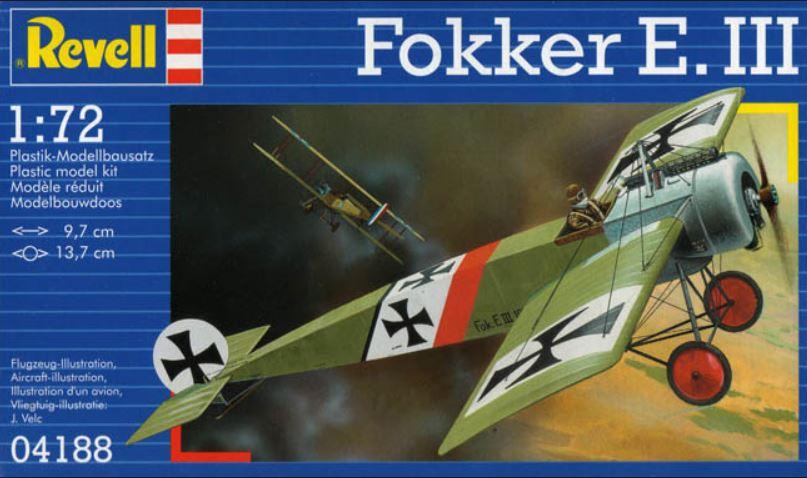 Fokker E.III - Revell - 1/72 Revell15