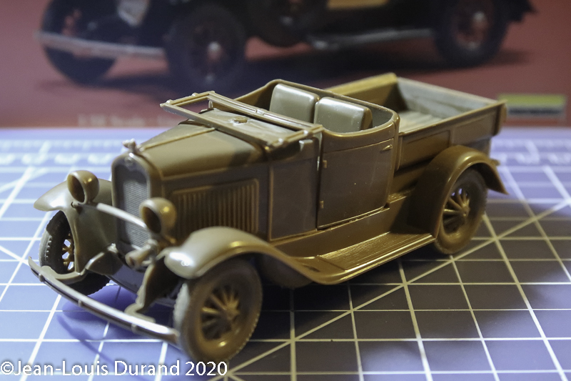 Ford Model A Pick-Up 1930 - Lindberg - 1/32 Sans_t16
