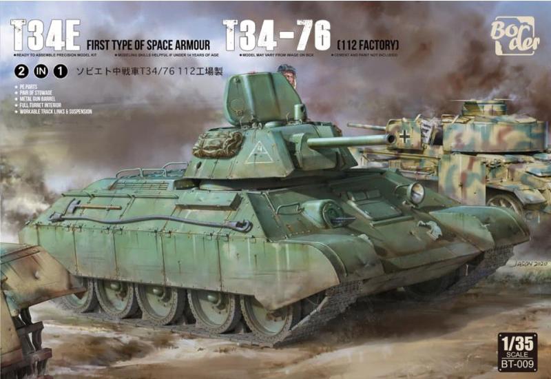 BORDER MODEL T-34e-10