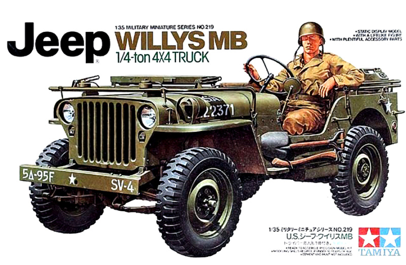 Jeep Willys MB Tamiya 1/35 Tamiya29