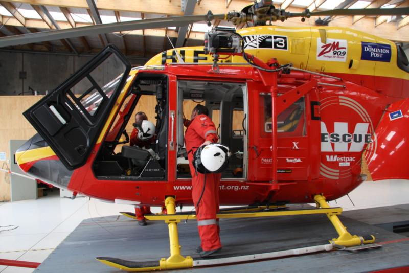 Eurocopter EC-135 ADAC, 1:72, Revell (#04457) Westpa12