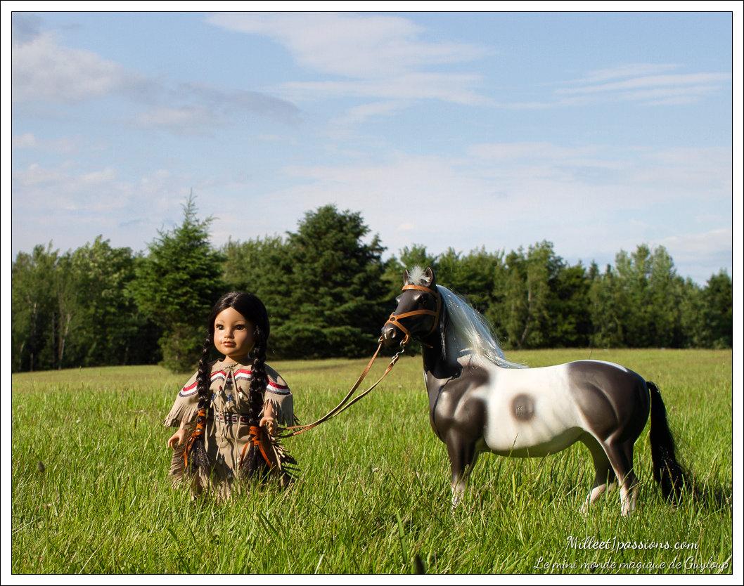 Les copines amérindiennes, Callie et Kaya Img_6017