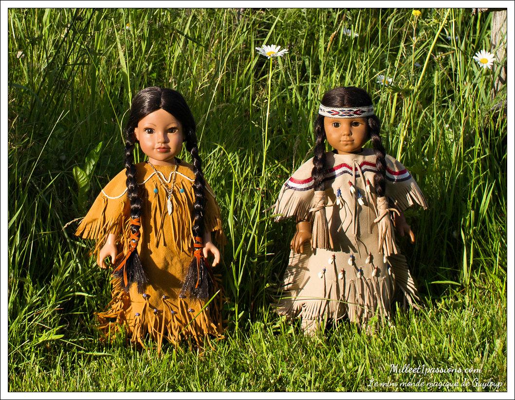 Les copines amérindiennes, Callie et Kaya Img_6122