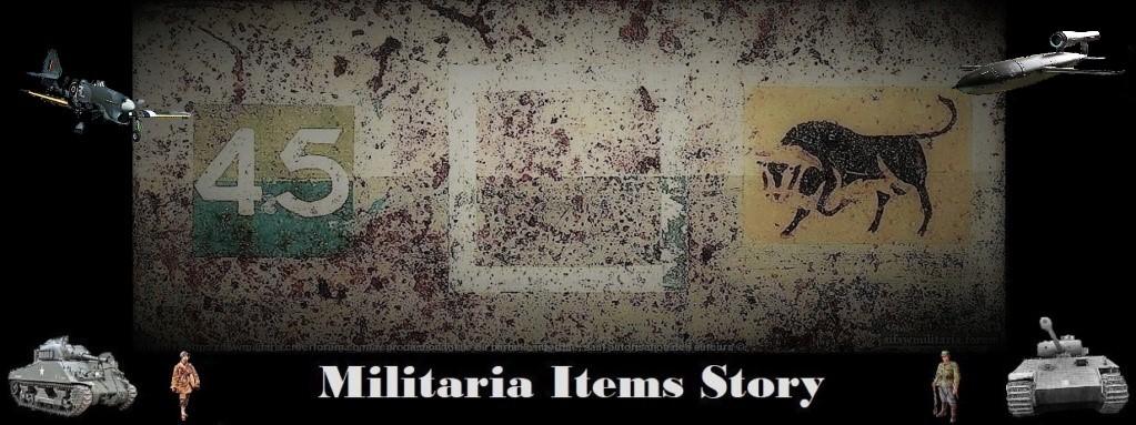 Militaria Items Story