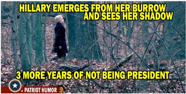 Hillary - Groundhog Day Hillar10