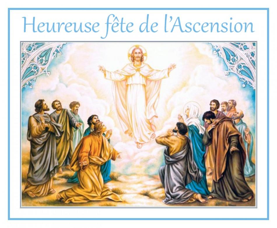 Heureuse Fête de l'Ascension du Seigneur! Hascen10
