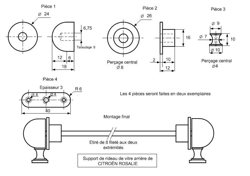 Refabrication du store de lunette arrière Captur18
