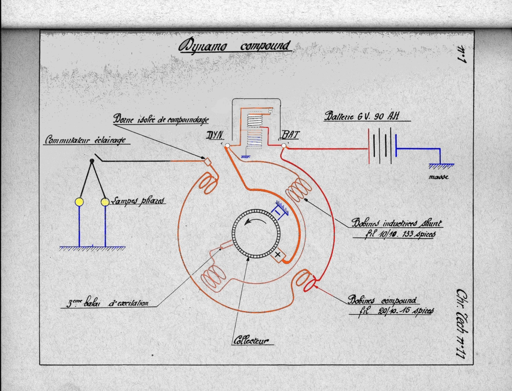conversion rosalie 12v - Page 2 Dynamo10