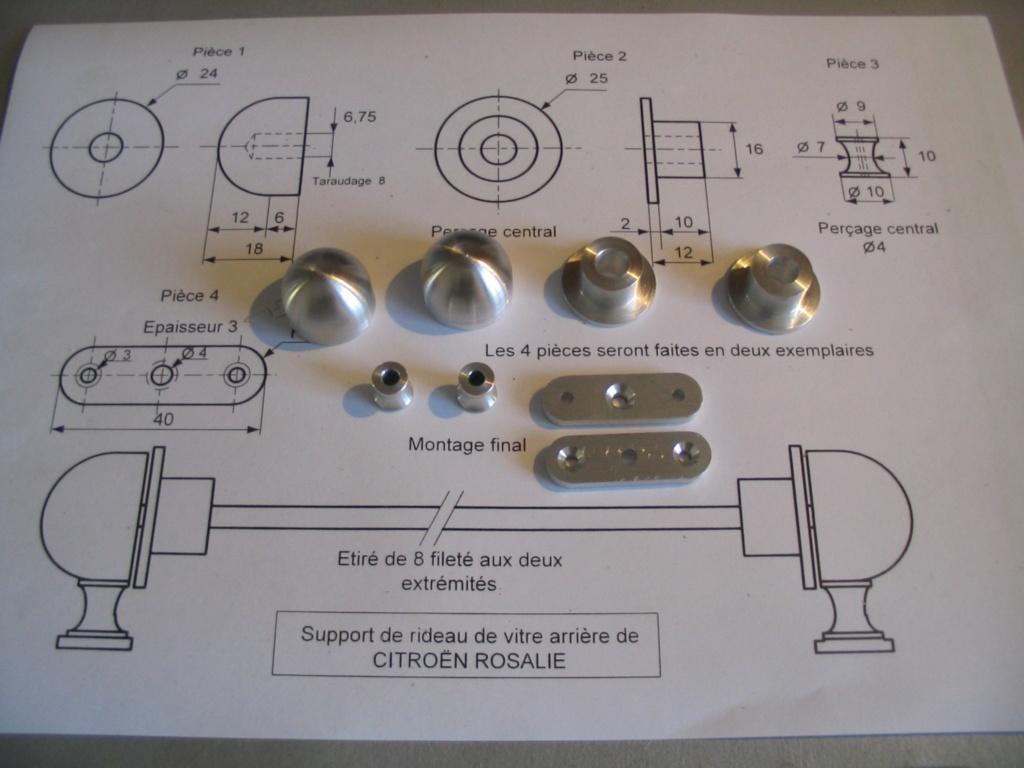 Refabrication du store de lunette arrière Pieces11