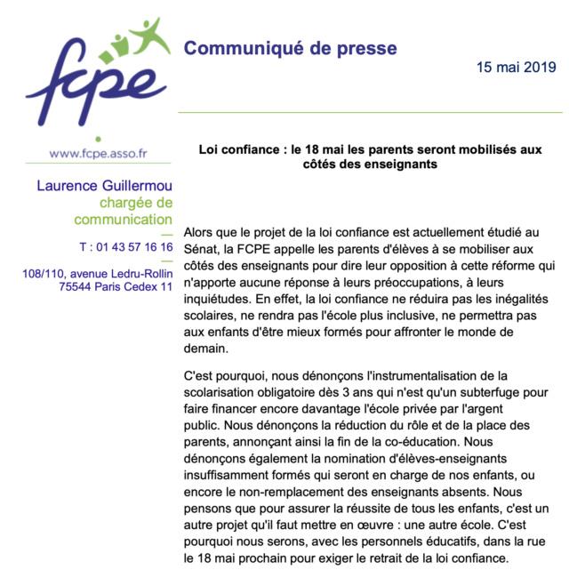 Samedi 18 mai : manifestation à Paris pour l'Education Captur65