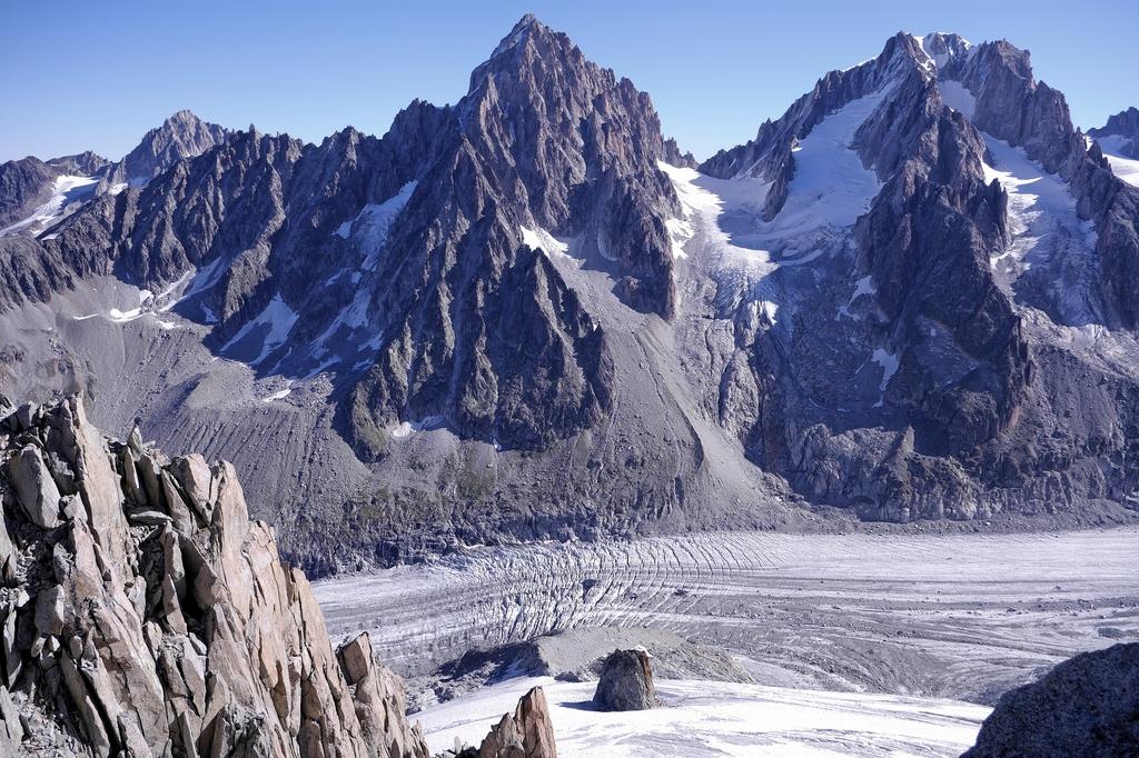 Glacier d'Argentière , les grands Montets . 45017210