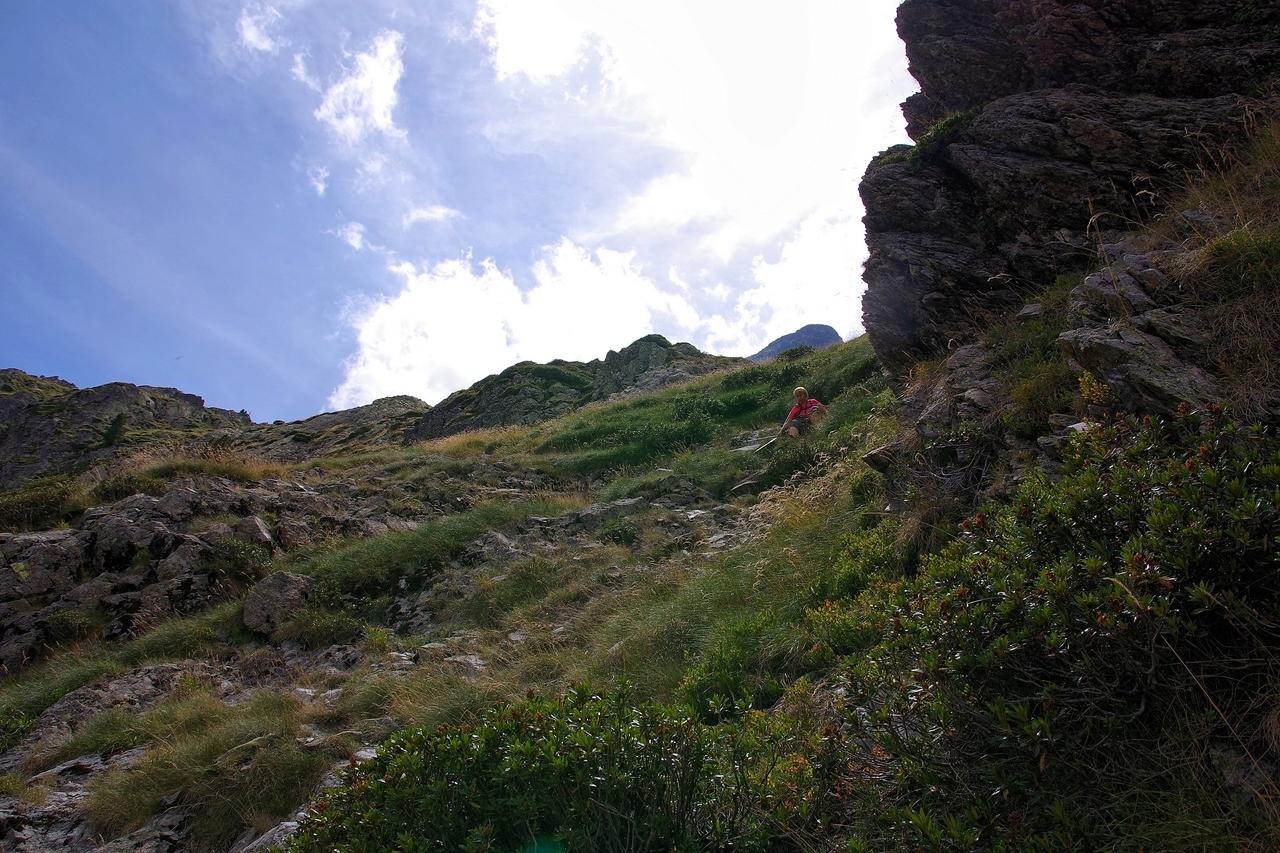 Montagne. Brèche Moundhels face Est----------Ajout----------   Imgp0315