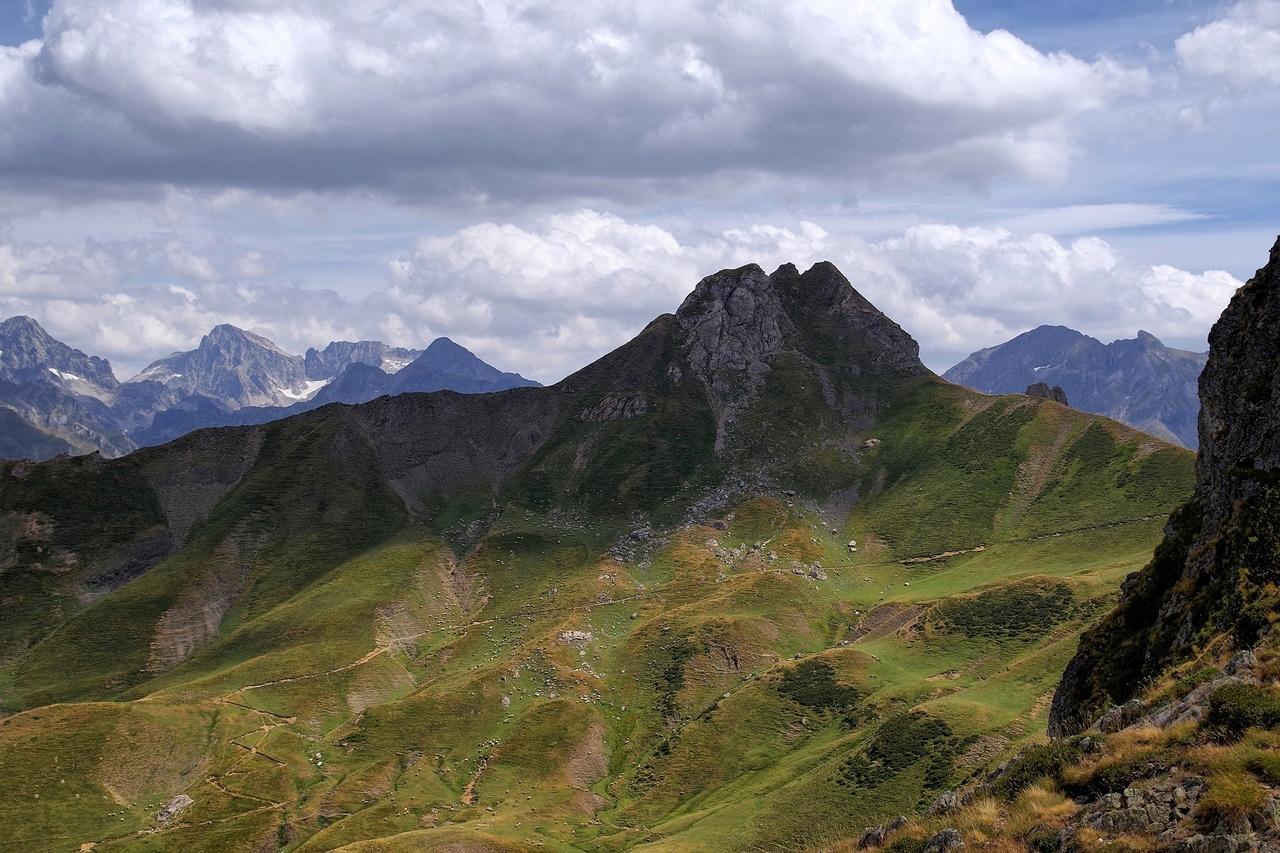 Montagne. Brèche Moundhels face Est----------Ajout----------   Imgp0316