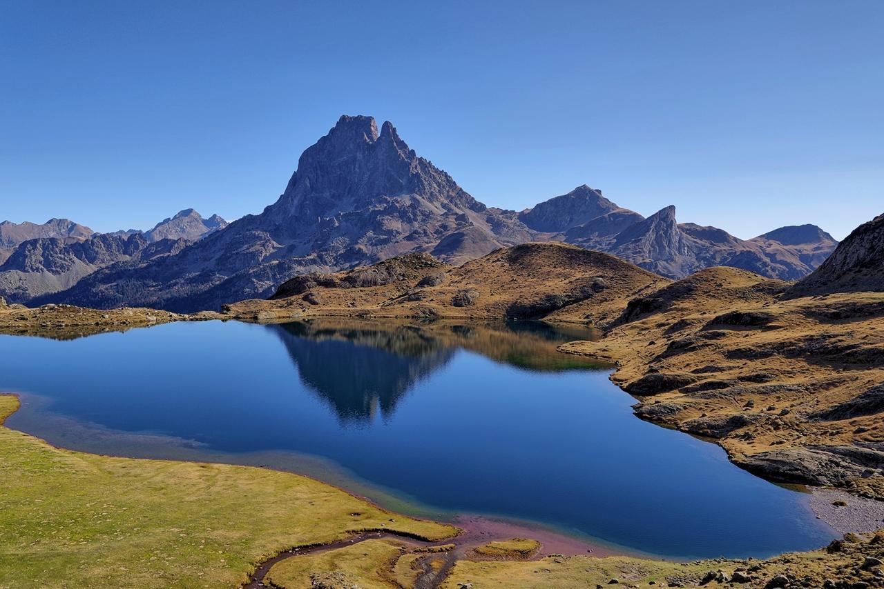 Montagne. Lac Gentau  Imgp5910