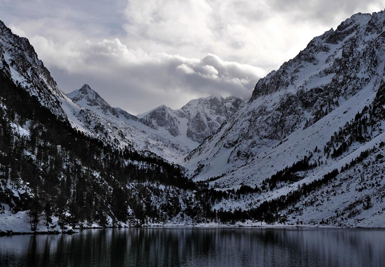 Lac de Gaube, hautes Pyrénées  P1023212