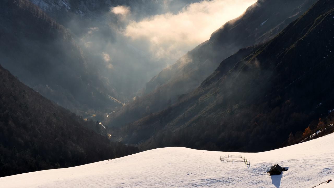 Montagne , vallée de Hautacam hautes Pyrénées P1023510