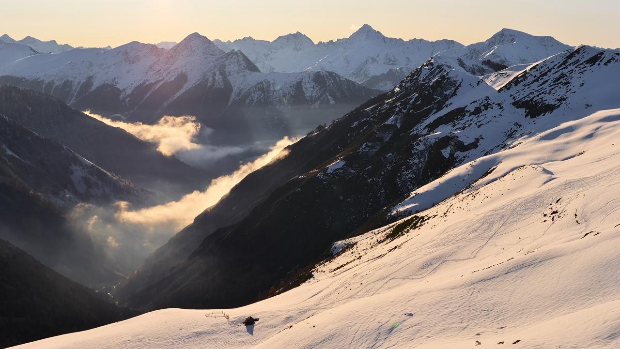 Montagne , vallée de Hautacam hautes Pyrénées P1023512