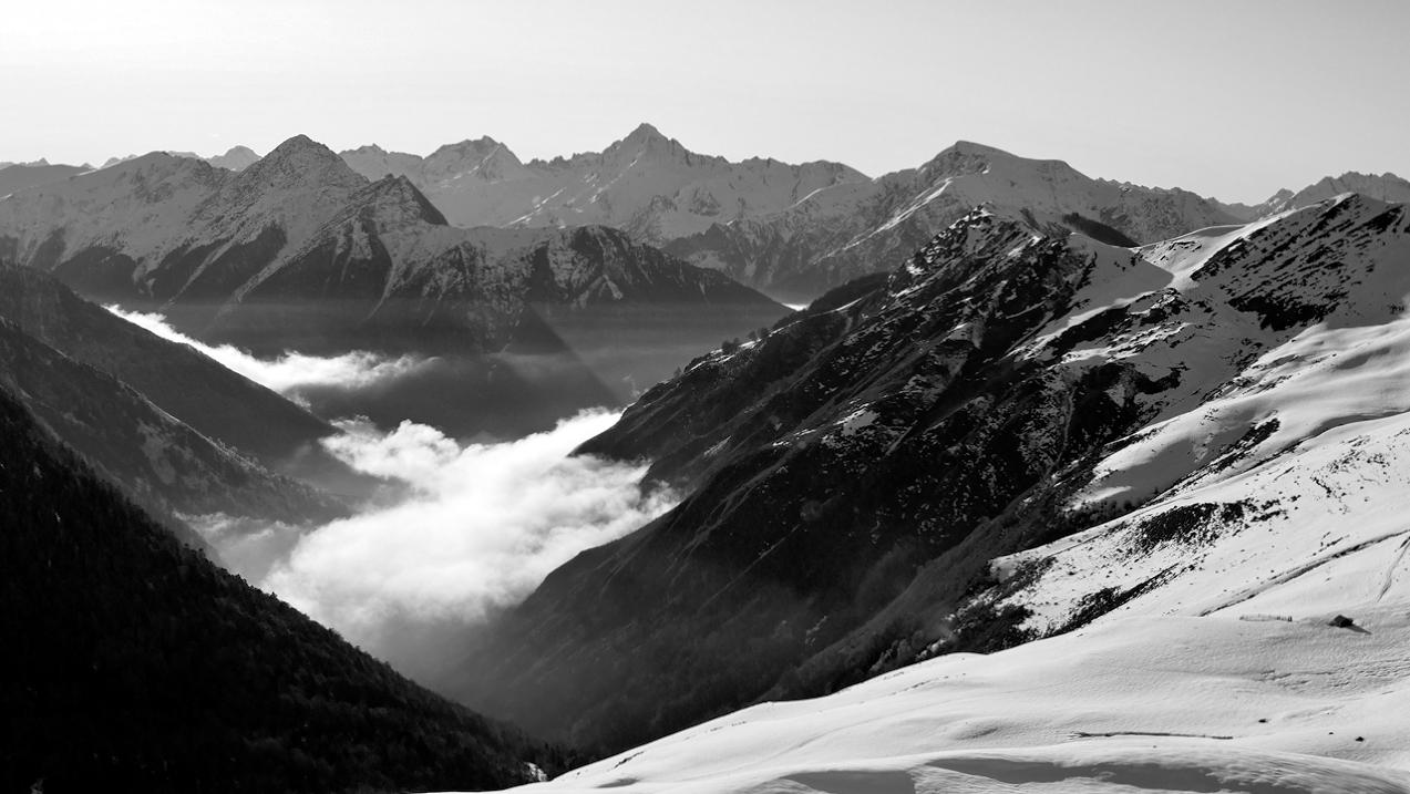 Montagne , vallée de Hautacam hautes Pyrénées P1023514