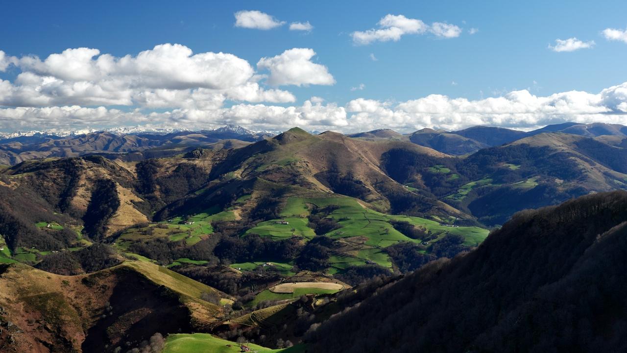Paysage Basque  mont Autza P1035910