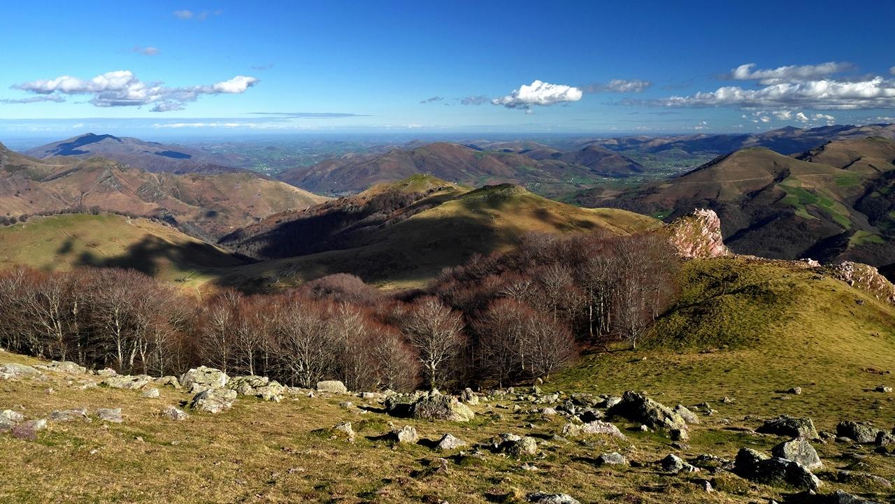 Paysage Basque  mont Autza P1036010