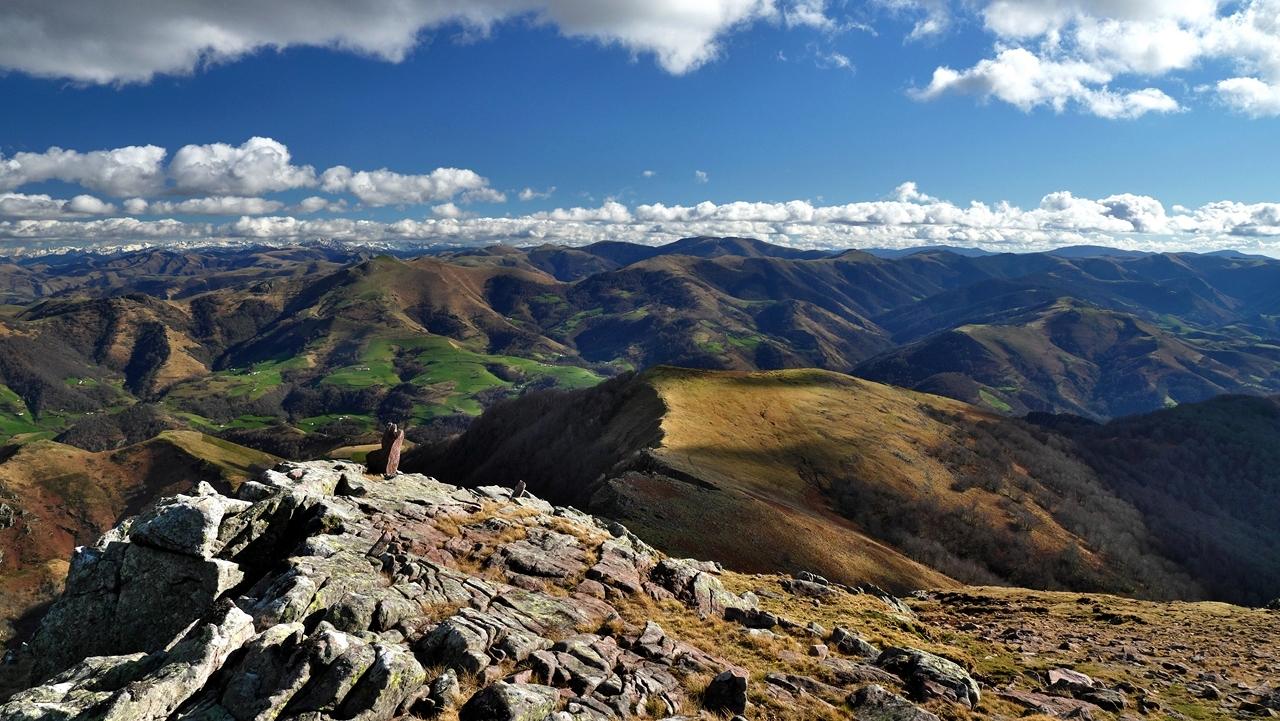 Paysage Basque  mont Autza P1036012