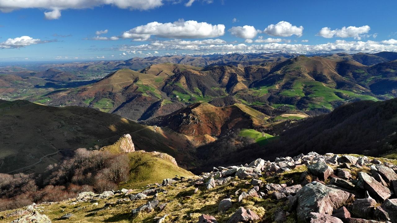 Paysage Basque  mont Autza P1036013