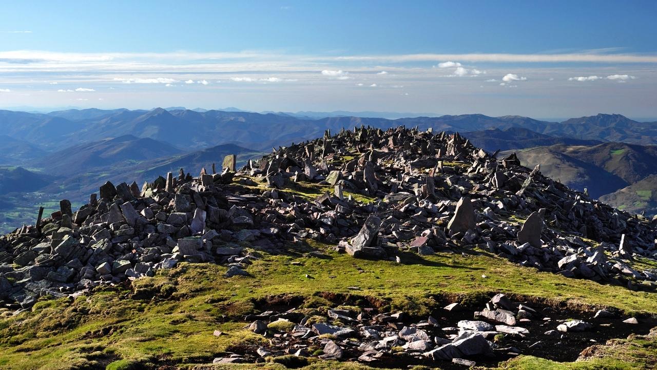 Paysage Basque  mont Autza P1036016