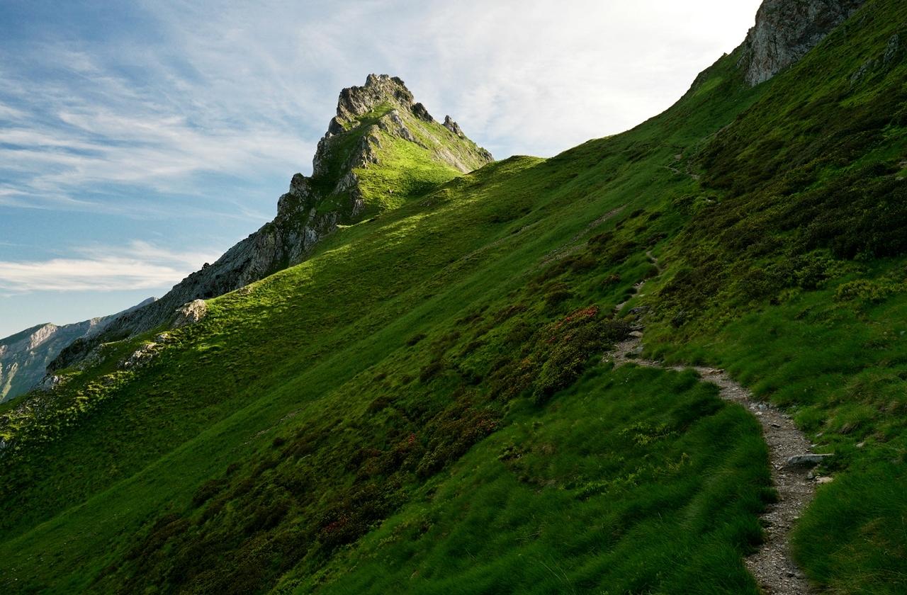 Le pic du midi d'Ossau depuis le pic Lavigne. P1059213