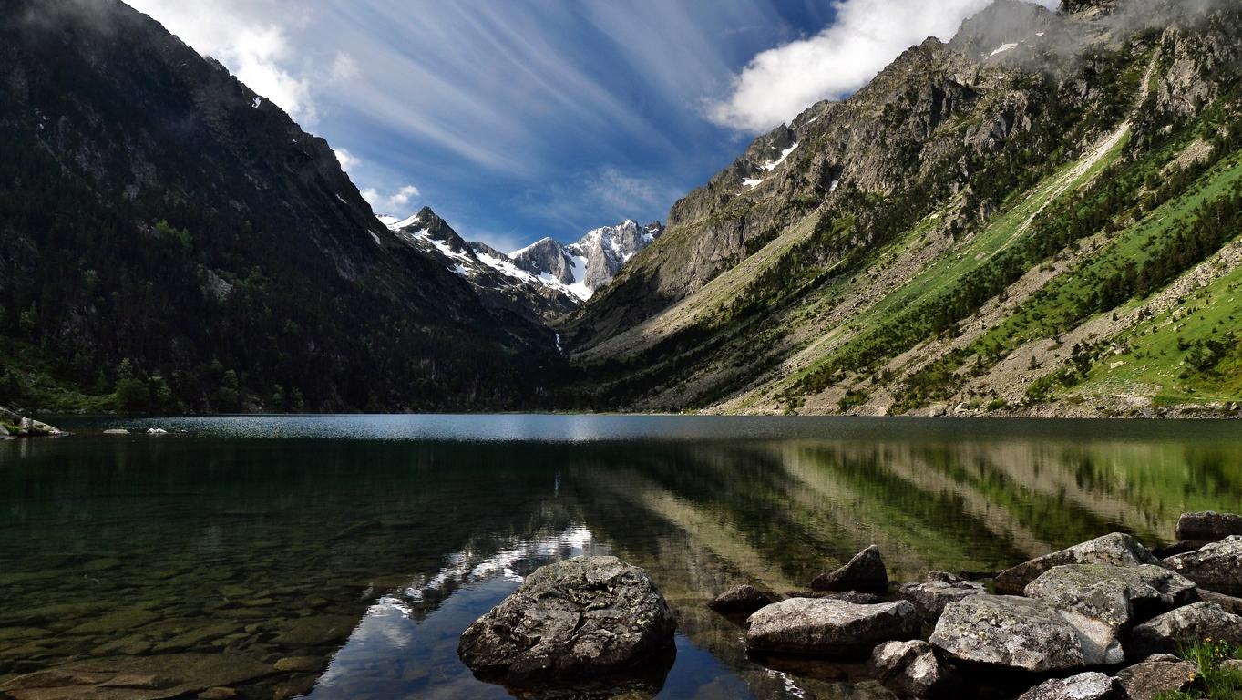 Lac de Gaube, hautes Pyrénées  P1059712