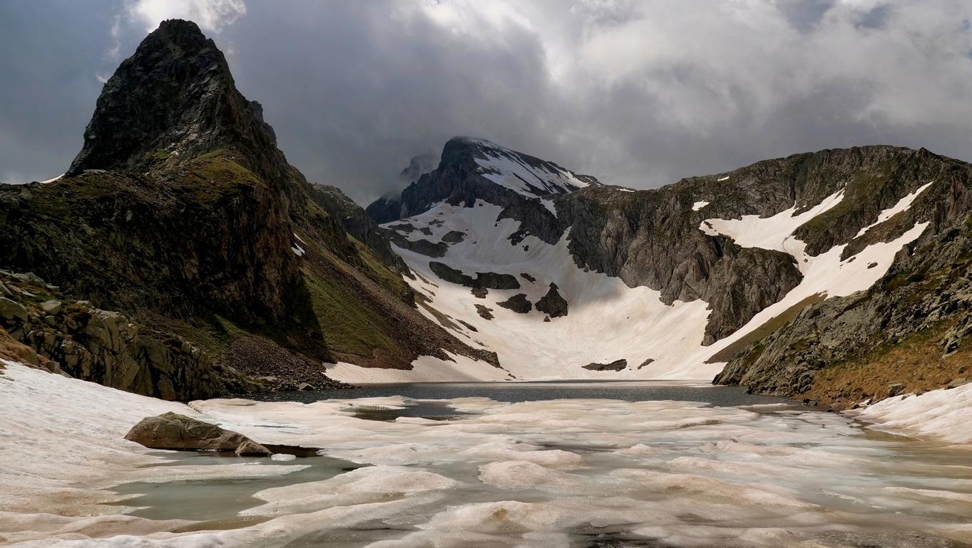 Lac d'Arious, vallée d'Ossau  P1060311
