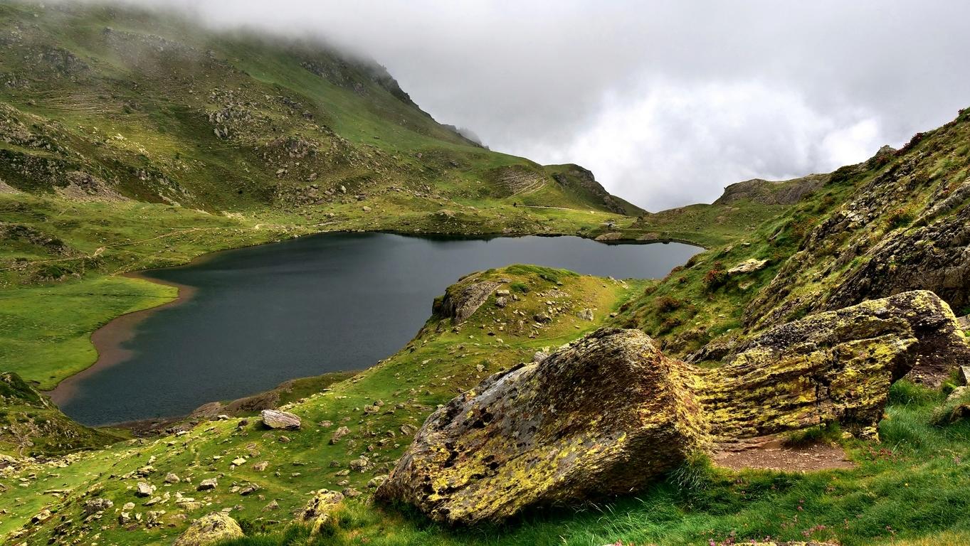 Lac Genteau, refuge d'Ayous P1060812