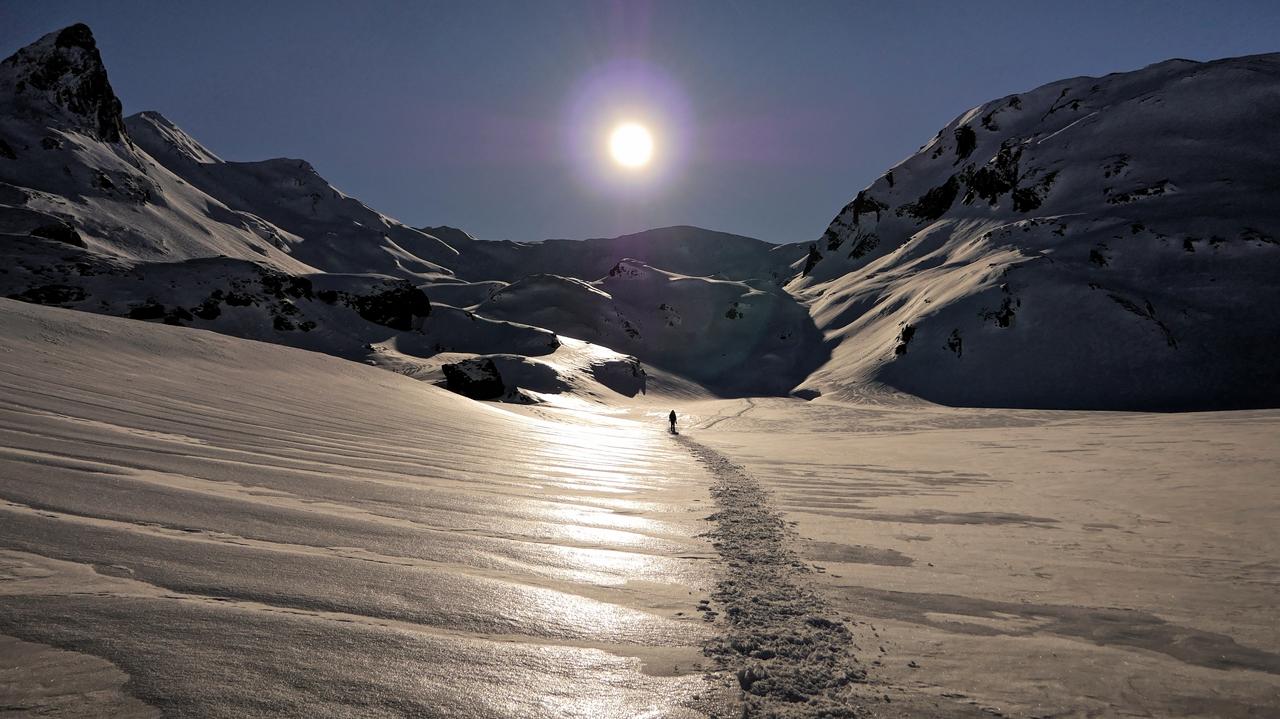 Montagne, sunset sur Anéou (ajout d'images) P1130110