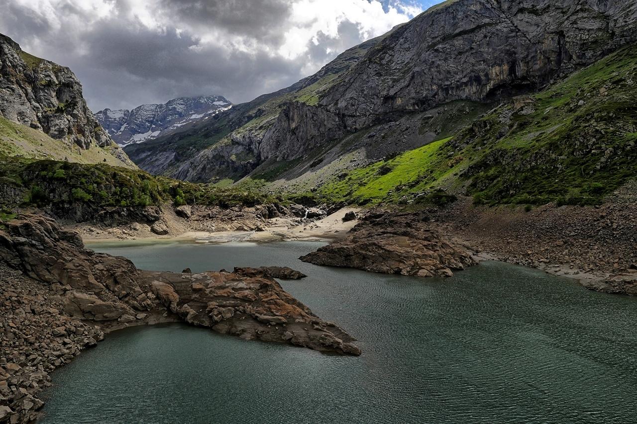 Lac des Gloriettes hautes Pyrenées  P1180510