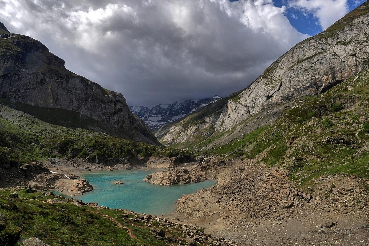 Lac des Gloriettes hautes Pyrenées  P1180810