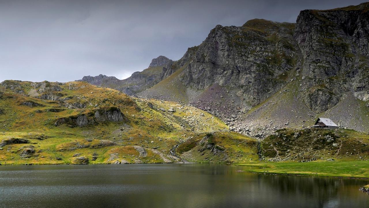 Montagne, Lac gentau et refuge d'Ayous  P1220611