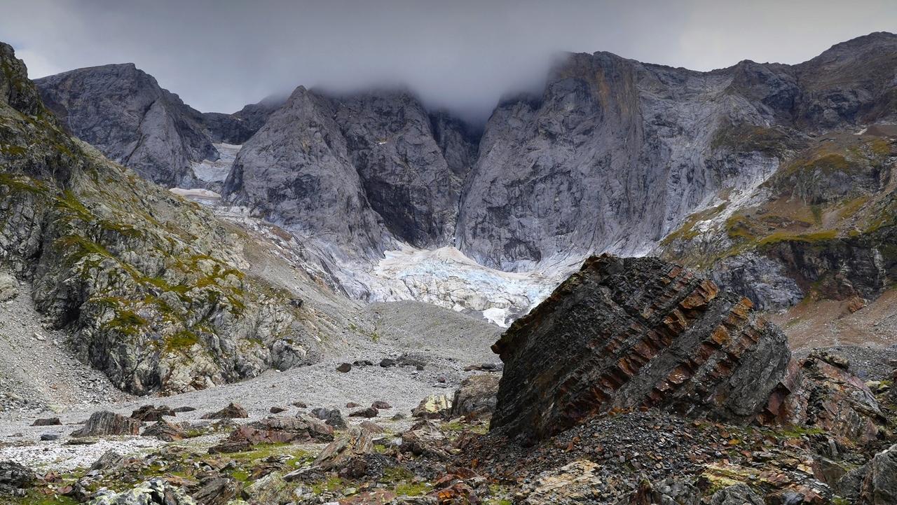 Montagne, moraine du glacier des Oulettes  P1220910